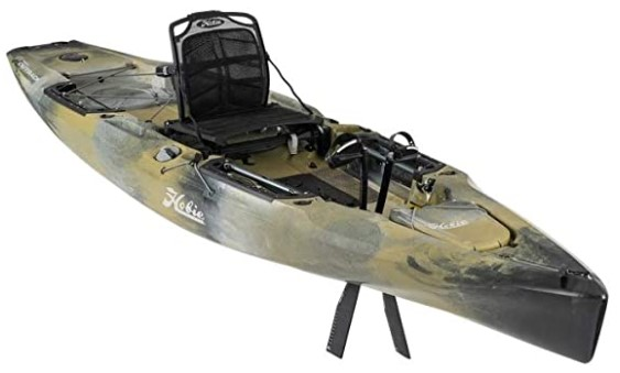 Hobie Mirage outback stand-up fishing kayak