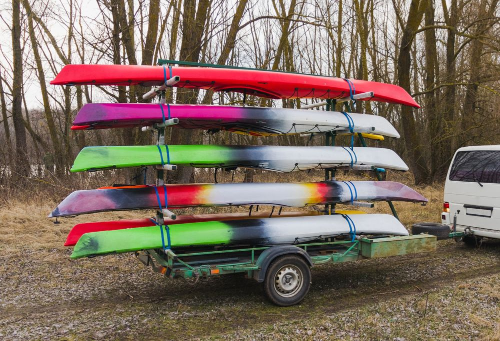 transport a kayak without rack