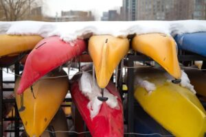 How to Store Kayak outside In Winter