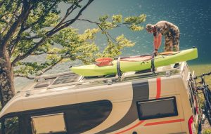 How to Carry a Kayak on a Motorhome